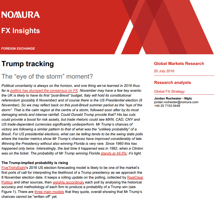 Nomura Global Markets Research